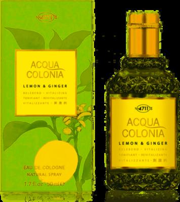 4711 Aqua Colonia Lemon & Ginger 50 ml