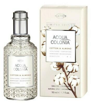 4711 Aqua Colonia Cotton & Almond 50 ml