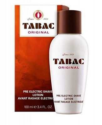 Tabac The Original Pre Electric Shave Lotion 100 ml