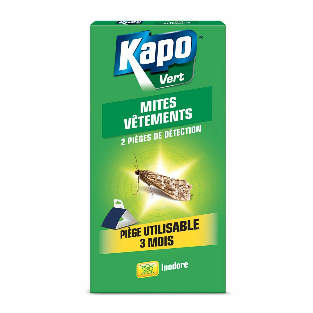 Kapo Kledingmotten vallen