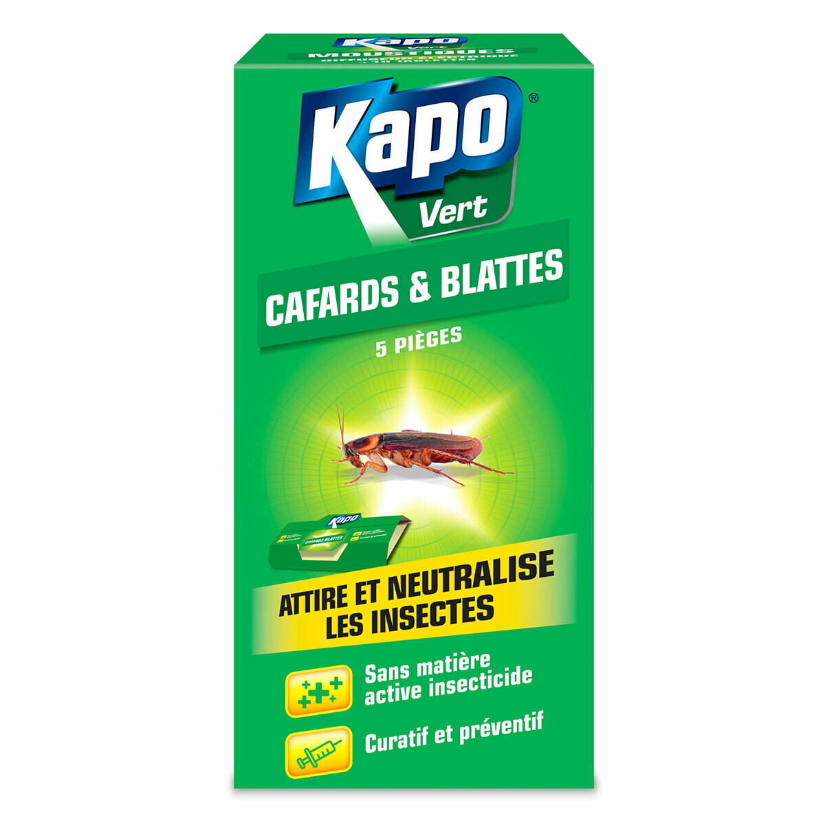 Kapo Kakkerlakken kleefval