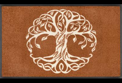 Wash+dry mat Tree of Life 50 x 75 cm