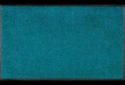 Wash+dry mat monocolor Peacock Green 40 x 60 cm
