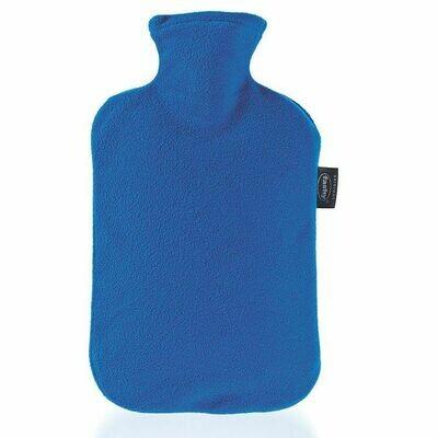 Warmwaterkruik fashy fleece blauw