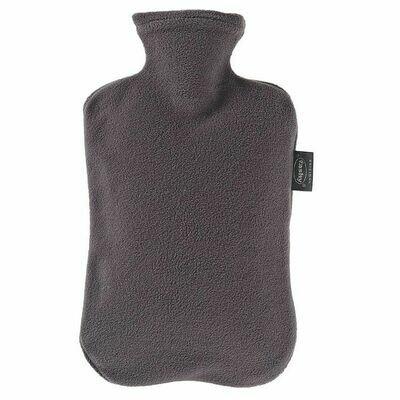 Warmwaterkruik fashy fleece grijs
