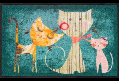 Wash+dry mat Klara, Lisa & Marie 50 x 75 cm