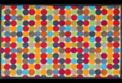 Wash+dry mat Mikado Dots 50 x 75 cm