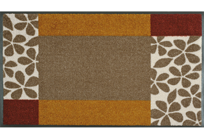 Wash+dry mat Florita 50 x 75 cm