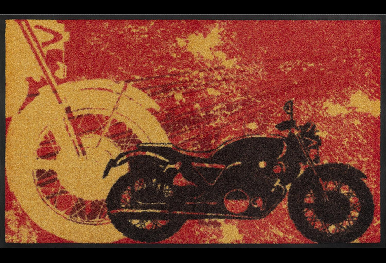 Wash+dry mat Motorbike 50 x 75 cm