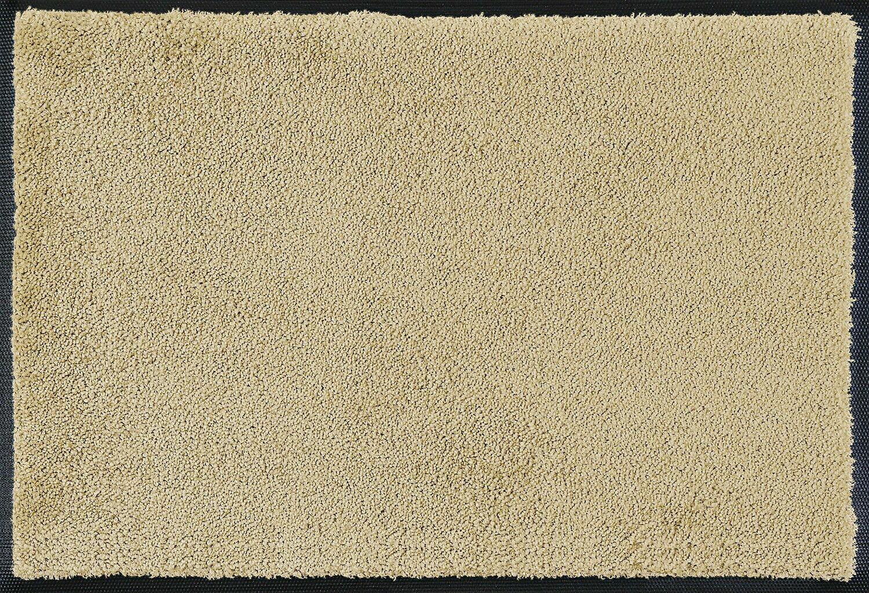 Wash+dry mat monocolor Sahara 40 x 60 cm