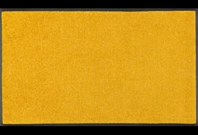 Wash+dry mat monocolor Honey Gold 40 x 60 cm