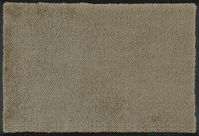Wash+dry mat monocolor Taupe 40 x 60 cm