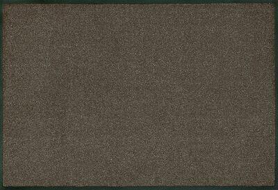 Wash+dry mat monocolor Brown 40 x 60 cm