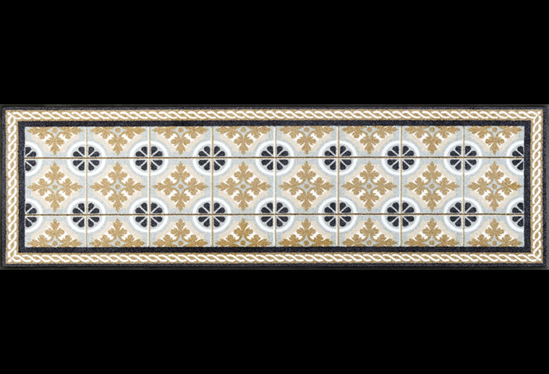 Wash+dry mat Kitchen Tiles 75 x 120 cm