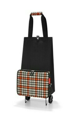 Reisenthel vouwtrolley Glencheck Red