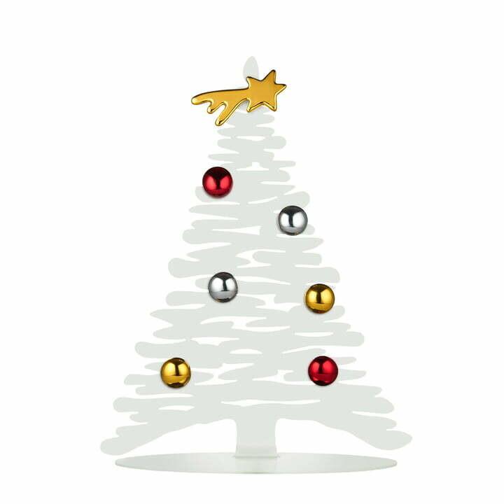 kerstboom Alessi wit 30 cm