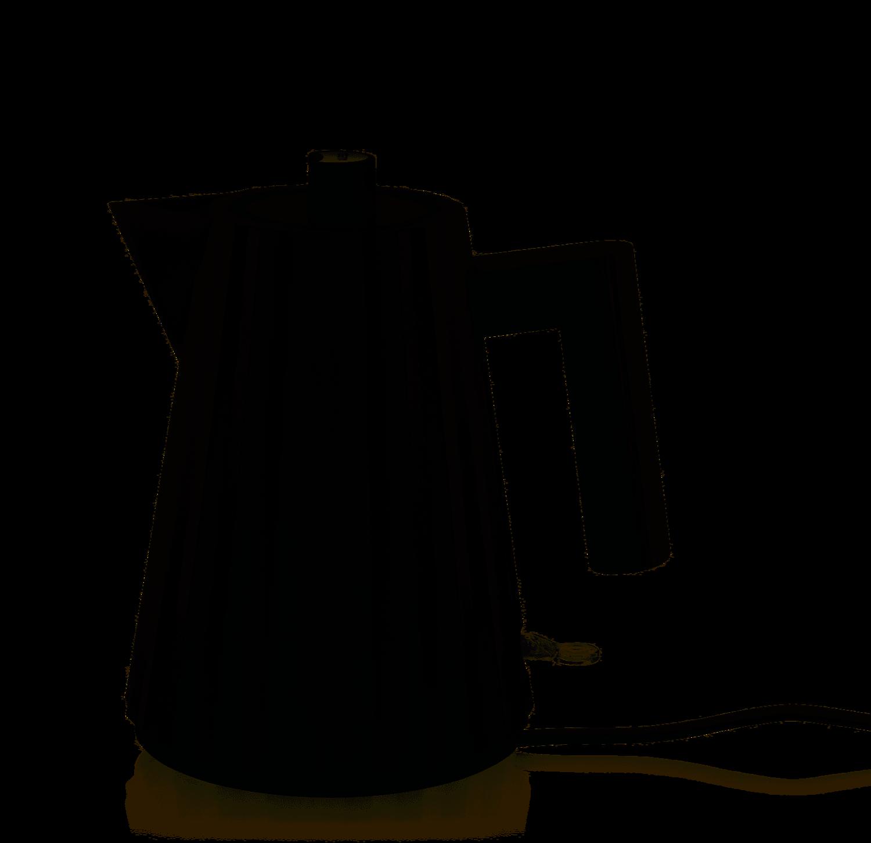 waterkoker elektrisch Alessi Plissé 1 L