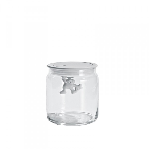 voorraadpot Alessi Gianni 0.7 L wit