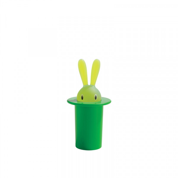 tandenstokerset Alessi Magic Bunny groen