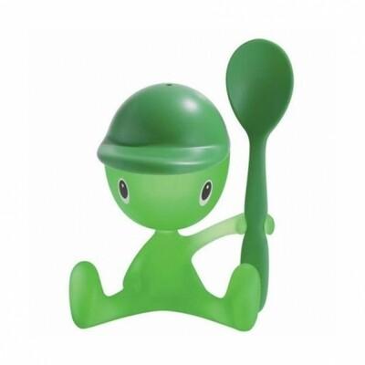 eierdopje Alessi Cico groen