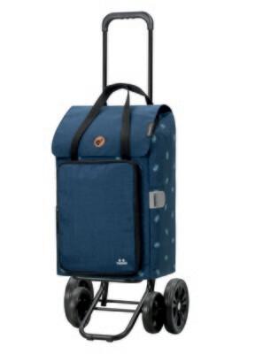 Boodschappenwagen - trolley 4-wielen Andersen quattro shopper Ivar blue