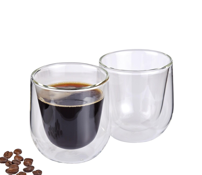 koffieglas dubbelwandig s/2 Verona 0.15 L