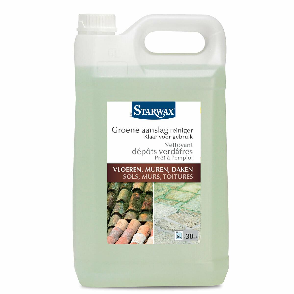 Starwax groene aanslag reiniger 6 L