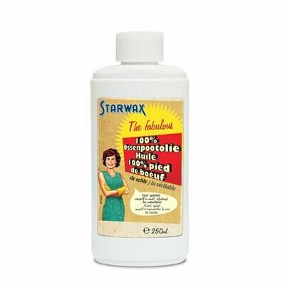 Starwax Fabulous 100 % Ossepootolie voor leder 250 ml