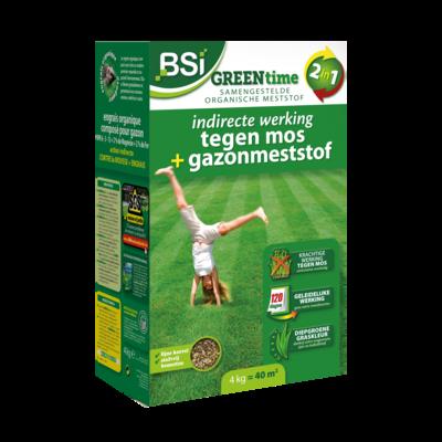 Top gazon green time 2 in 1: 4 kg = 40 m²