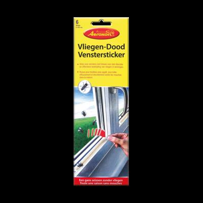 Vliegendood vensterstickers