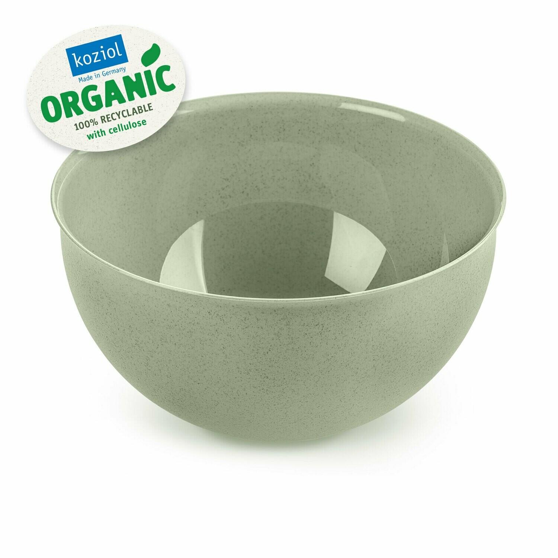Set bowl + vergiet 2 L  Koziol Palsby groen