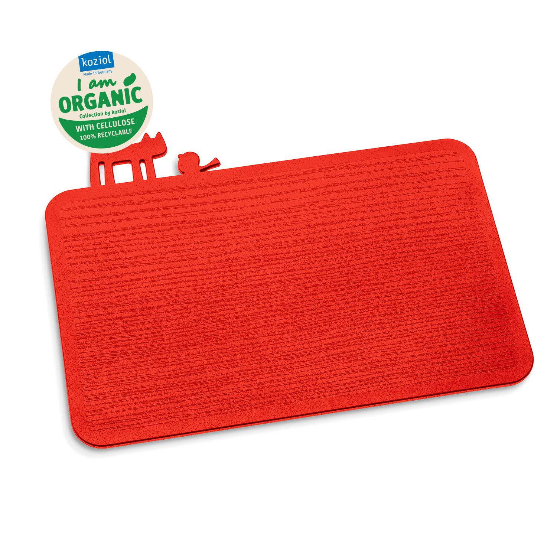 snijplank - ontbijtplank Koziol red