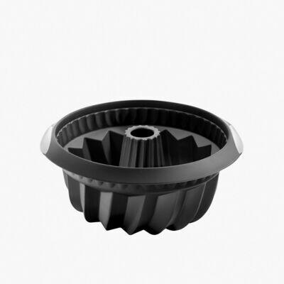 tulbandvorm uit silicone zwart Ø 22M H 10CM