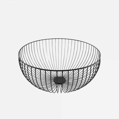 mand wire zwart Ø 30CM
