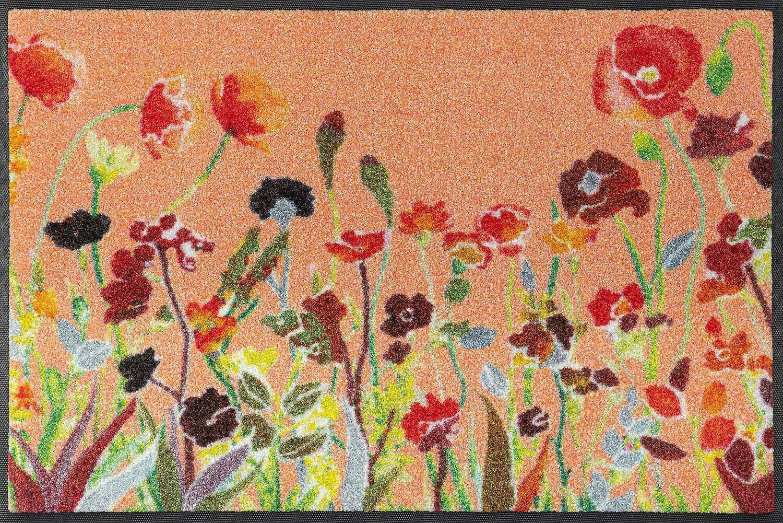 Wash+dry mat Wildflowers 50 x 75 cm