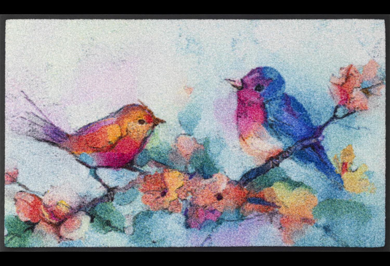 Wash+dry mat Birdorama 50 x 75 cm