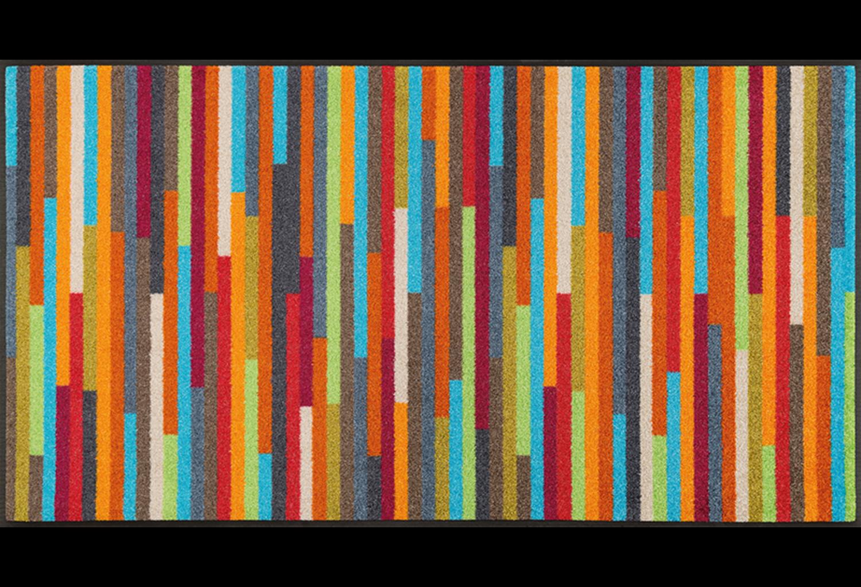 Wash+dry mat Mikado Stripes 60 x 140 cm