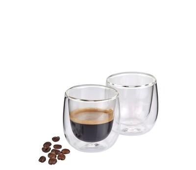 espressoglas dubbelwandig s/2 Verona 0.08 L