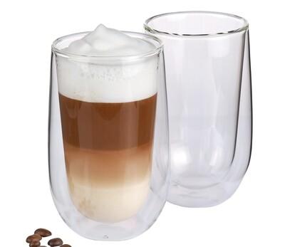 Latte Macchiato glas dubbelwandig s/2 Verona 0.35 L