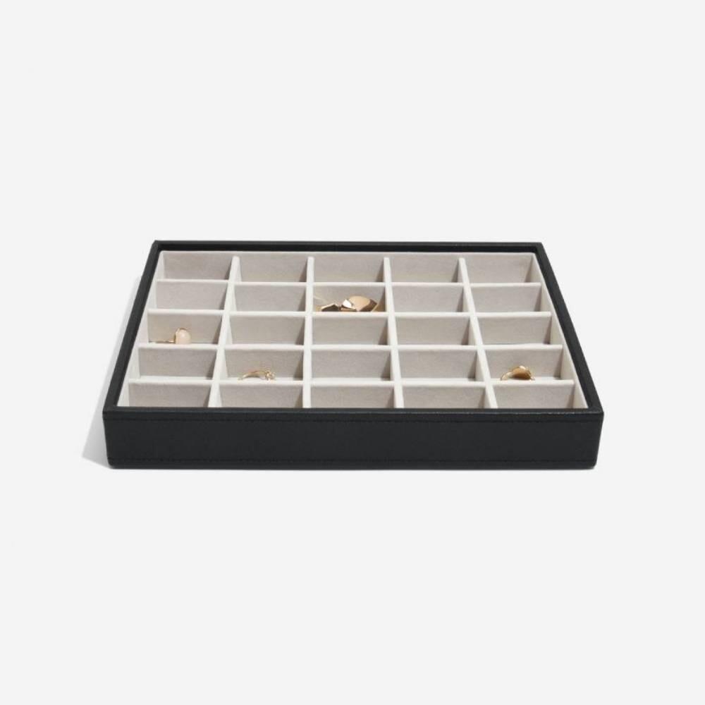 Stackers juwelendoos classic 25 vakken zwart