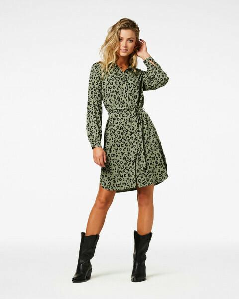 Reena Leopard Dress