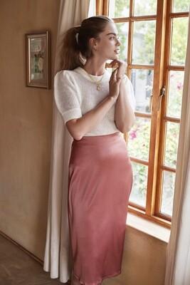 Elody Skirt Dusty Pink