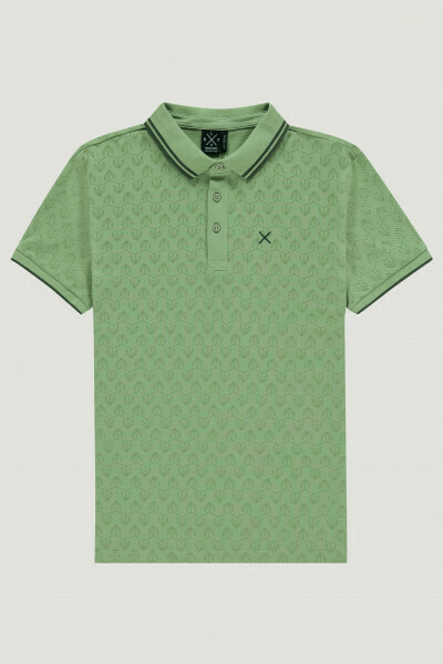 Polo Graphic Leaves