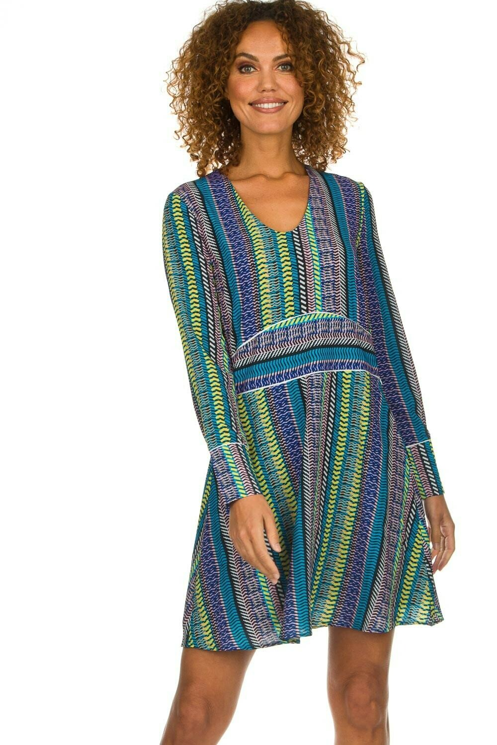 Yael Stripe Dress