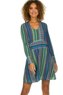 Yael Stripe Dress
