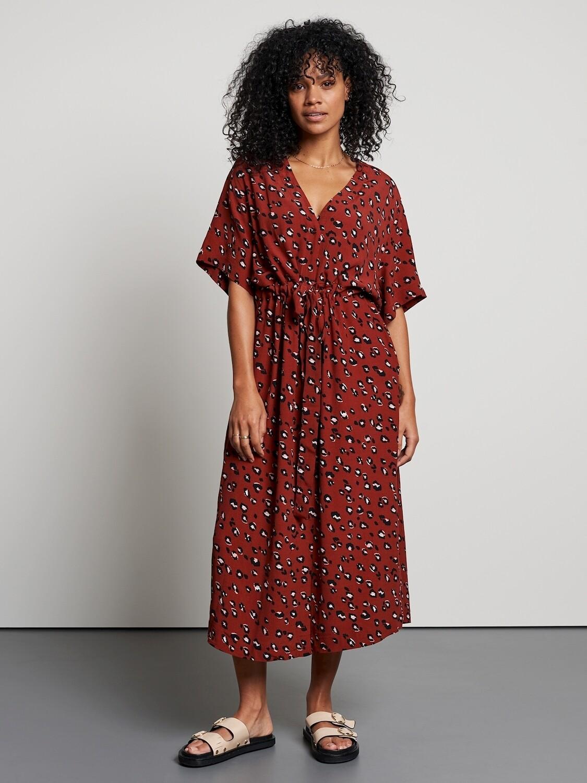 Clouded Leopard Dress