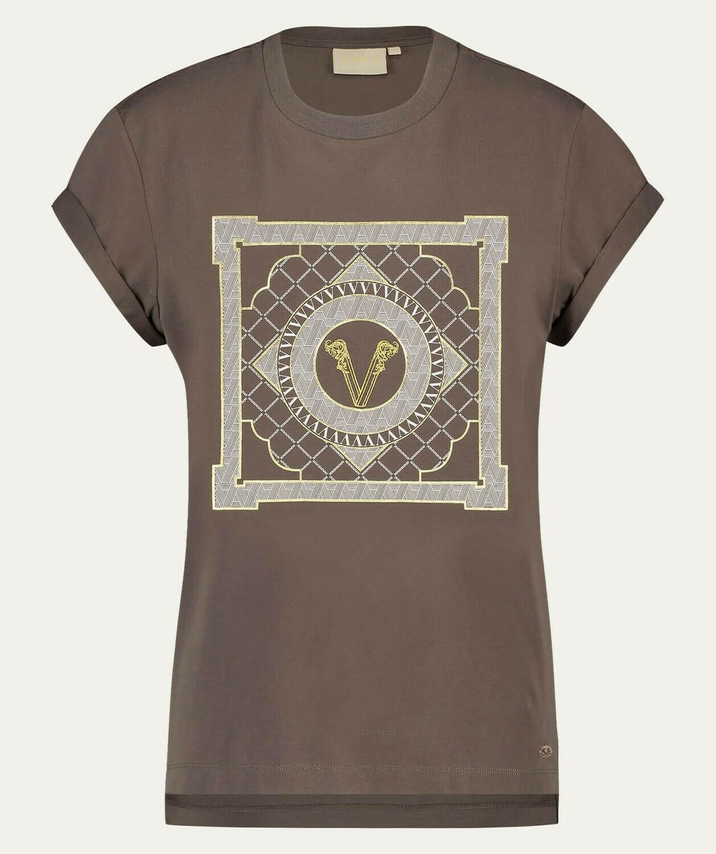 Dora Multi V-Print T-Shirt