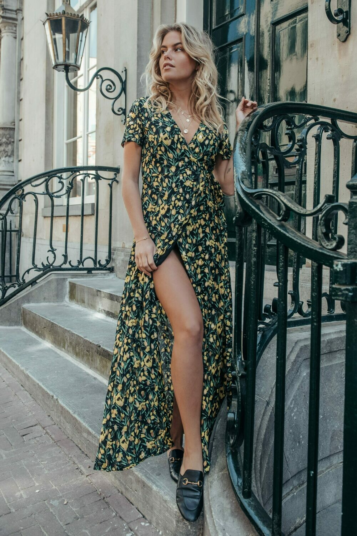 Ava Maxi Dress Flower