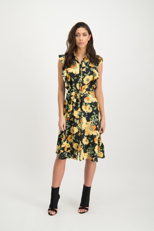 Helena Dress Geel