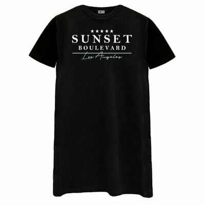 Sunset Boulevard Tee Dress